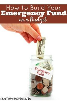 Do you need to build your emergency fund, but you're just not sure where to find the extra money?  Check out these 4 ideas for how to build your emergency fund on a budget.