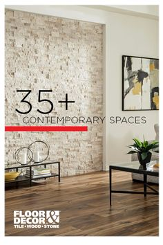 Is your style contemporary? Here are spaces full of contemporary style from Floor & Decor Living Room Designs, Living Room Decor, Bedroom Decor, Bedroom Ideas, French Country Kitchens, Fireplace Remodel, Living Room Remodel, Floor Decor, Modern Interior Design