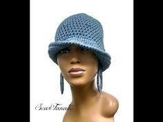 How to crochet sturdy Hoop / Circle Earrings