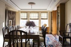 Park Avenue duplex renovation #interiordesign #art #diningroom