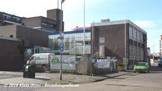 Sloop voormalig gebouw arbeidsbureau aan de Stationsstraat in Den Helder. www.facebook.com/bouwbedrijfweblog/posts/1068995549824003