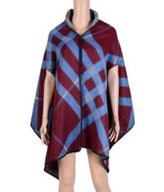 668f868732673 Country Western Plaid Poncho Shawl. Women's Wraps And ShawlsWinter  PonchoCape ScarfPoncho ShawlVintage BlanketPlaid ...