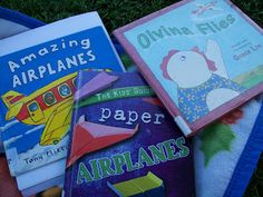 Preschool: Airplanes - books on airplanes