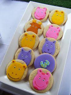 Backyardigans cookies