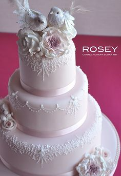 Beautiful..we did 2 white doves on top of our wedding cake, they mate for life, you know :)