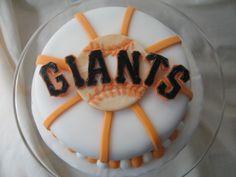 SF Giants cake 1