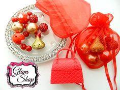Shopkins CHOC KISS Valentine's Bracelet Kit DIY by GlamShopBeads