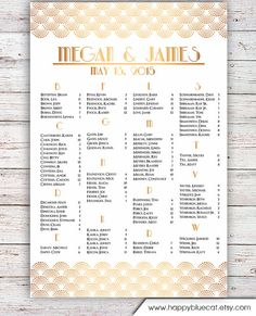 Free Printable Seating Chart Custom Wedding Seating Chartorder Your Custom Sign At Boardman .