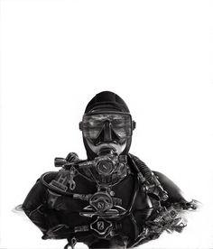 Fathom// Yanni Floros. charcoal media.