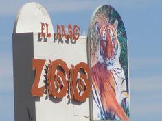 El Paso Zoo in El Paso, Texas