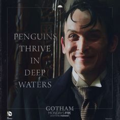 """Penguins thrive in deep waters"" best quote of the episode"