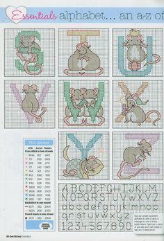 Mice ABC Alphabet & Numbers #4/5