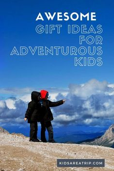If your kids love exploring the outdoors, we have everything you need for the perfect gift. From fun games to outdoor essentials, we have gift ideas adventurous kids will love! - Kids Are A Trip |gift guide| gift ideas for kids| adventure gifts| outdoor gift ideas| gifts for kids