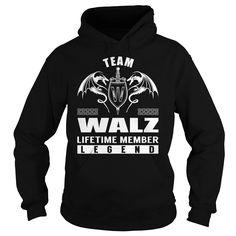 Team WALZ Lifetime Member Legend Name Shirts #Walz