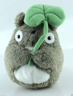 Originality My Neighbor Totoro Leaf Totoro Dolls Plush Doll Leaf Totoro Toys | eBay