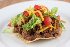 Tostadas-Making some this week. :)  -Edit- Very good! I baked the tortillas, but I know they'd be better fried.