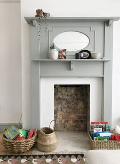 New Cost-Free Fireplace Hearth storage Popular Living room progress so far – Apartment Apothecary 1930s House Interior Living Rooms, 1930s Living Room, Ikea Living Room, 1930s House Interior Ideas, Living Room Ideas Edwardian House, Interior Blogs, Dining Room, Interior Design, Home Fireplace