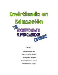 """Proyecto de Innovación Educativa sobre """"The Flipped Classroom"""""""