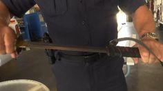 Florida man wields samurai sword during road rage incident, police say