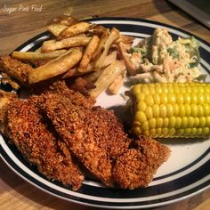 Sugar Pink Food: Recipe: Slimming World KFC Style Chicken