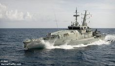 HMAS WOLLONGONG (ACPB 92). Armidale class patrol boat of the Royal Australian Navy.