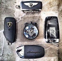 extraordinary-excellence:  Lamborghini x Bentley x Rolls Royce x Bomberg BOLT68
