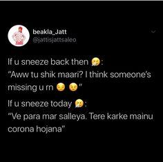 Funny Memea, Funny Minion Memes, Funny Texts Jokes, Text Jokes, Crazy Funny Memes, Funny Stuff, Hilarious, Punjabi Funny Quotes, Punjabi Memes