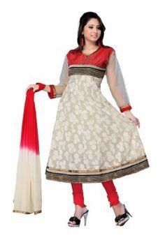 Indian Designer Wear Chanderi Brasso Multicoloured Embroidered Salwar Kameez Fabdeal, http://www.amazon.de/dp/B00J0V1RFW/ref=cm_sw_r_pi_dp_-F6otb0Q48Q2G