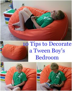 10 Tips to Decorate a Tween Boy's Bedroom
