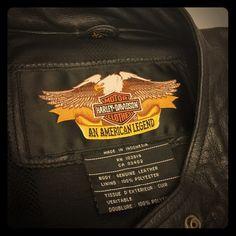 Harley Davidson Leather Jacket Badass Black Jacket. Gorgeous. XL Women's Jacket. Harley Davidson Jackets & Coats