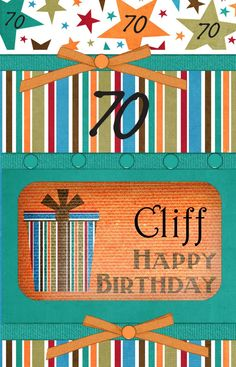 Happy Birthday Cliff PixByMarlys.com