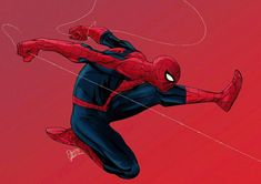 Spider-man by Lightning-Stroke