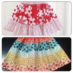 Simple girls skirt