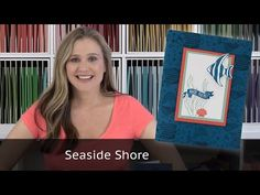 Seaside Shore stamp set from Stampin Up - YouTube