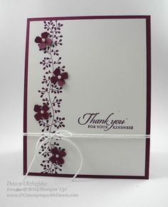 great border idea for my flower stamp and float flowers on top.