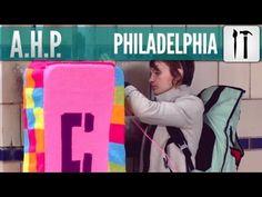 Urban Knitting!    Ishknits Yarn Bombing - American Hipster Presents #12 (Philadelphia)