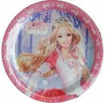 Barbie Party Supplies-12 Dancing Princess Plate Set of 8 Rs. 40  sc 1 st  Pinterest & Barbie Party Supplies-Barbie Plate Set of 8 Rs. 40 | Barbie theme ...