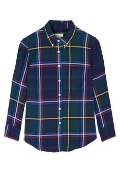 PRODUCT CODE: 916537 Plaid Cropped Sleeve Shirt #MYWtrends #AW14 #ModernPlaid