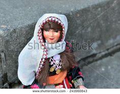 Doll in Kurdish national costume