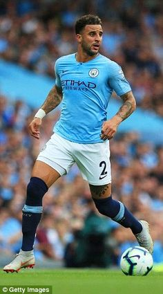 Kyle Walker also get the nod for the first time after a stellar campaign with Manchester City and England Arsenal Players, Arsenal Fc, Man City Lineup, Barcelona E Real Madrid, Manchester City Wallpaper, Kyle Walker, Zen, Soccer Pictures, English Premier League