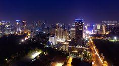 "Merdeka street Jakarta Its taken using Drone DJI Phantom 3 Pro with manual setting camera iso 100 speed 5"""