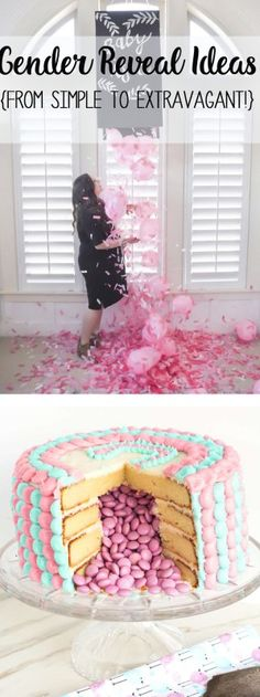 gender reveal ideas | gender reveal party | baby shower ideas