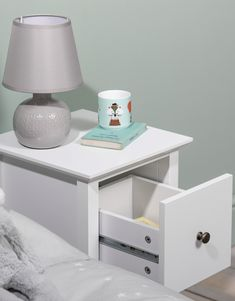 Asora makes a cute bedside companion to your bed. Simple and chic, Asora has just enough space for a pretty lamp or cute ornament, whilst it's deep drawer and shelving area indicates functionality. #kidsbedroom #bedroomideas #kids #kidstoys Bedroom Storage, Bedside, Kids Bedroom, Storage Spaces, Kids Toys, Shelving, Drawers, Ornament, Deep