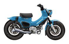 Honda Scooters, Honda Motorcycles, Custom Motorcycles, Custom Bikes, C90 Honda, Honda Scrambler, Honda Cub, Motorcycle Engine, Moto Bike