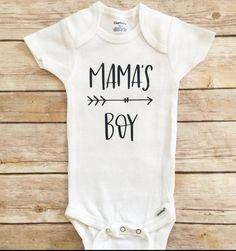 01dfbfd8 Mama's Boy Onesie, Mama's Boy Outfit, Baby Shower Gift, Newborn Outfit, Boy  Newborn Onesie, Mama's b