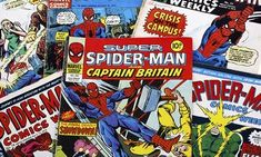 Can reading make you smarter? spider-man and super spiderman marvel group comic books from the in the uk Book Club Books, Books To Read, Parent Teacher Meeting, Mike Mignola Art, The Twits, Reluctant Readers, Book Activities, The Guardian, 1970s