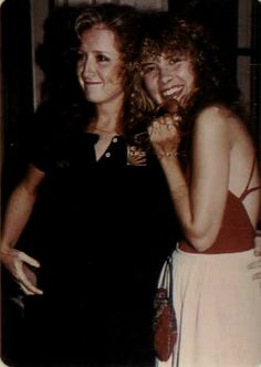 Stevie Nicks with Bonnie Rait