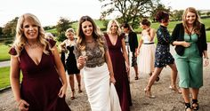 Emma and Ollie's love and laughter-filled wedding at Clonabreany House Bridesmaid Dresses, Wedding Dresses, Confetti, Real Weddings, Laughter, Elegant, House, Style, Fashion