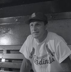 This historic photograph was taken by Dorrill Studio and is part of the Irv Schankman/Allied Photocolor Collection at the Missouri Historical Society, St. Louis. Cardinals Players, Cardinals Baseball, St Louis Cardinals, Fenway Park, Derek Jeter, Oakland Athletics, Kansas City Royals, Chicago White Sox, Reflexology