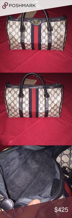 Gucci Handbag In Perfect Conditionauthenticno Stainno Scratchno - Free cleaning invoice template gucci outlet store online